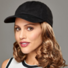 Kép 3/4 - Curly Hat Black