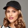 Kép 1/4 - Curly Hat Black - Paróka